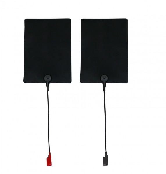 Silikon/Dauerelektrode aus Silikon 80 x 60 mm 2Stück